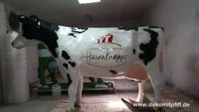 Was Denn hast Du denn keine Logo Deko Kuh ? Ja dann ruf doch mal an ...