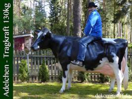 Was solln wir sagen oder schreiben… einfach kennen lernen dieses Holstein Friesian Deko Kuh - Modell ….