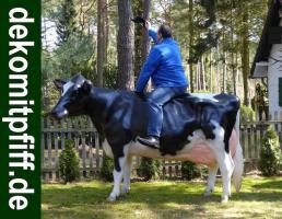 Foto 2 Was solln wir sagen oder schreiben… einfach kennen lernen dieses Holstein Friesian Deko Kuh - Modell ….