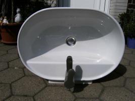 waschbecken zum aufsetzen in kamen von privat waschbecken armatur badewanne dusche wc. Black Bedroom Furniture Sets. Home Design Ideas
