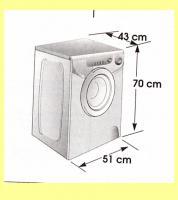 Waschmaschine Candy AQUA 1000 zu verkaufen