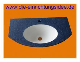 Waschtisch Waschbecken Corian Design Farbe nach Wahl