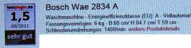 Foto 5 Waschvollautomat Bosch MAXX 6 WAE 2834 A