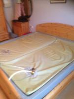 Wasserbett 200 x 200 cm komplett mit Aufbau gebraucht VB 250 �