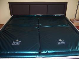 Wasserbett Dual 200 x 200 cm in super Zustand