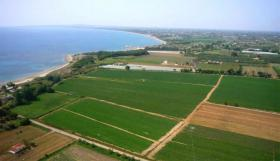 We provide the best investment plot on the beach in Peloponnese/Greece
