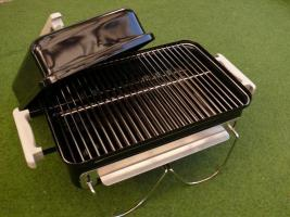 Foto 2 Weber Go-Anywhere Grill OVP - sehr guter Zustand - Go Anywhere Holzhohlegrill Holzkohlegrill