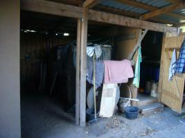 Weidehütte, Offenstall aus Lärchenholz gebraucht