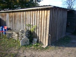 Foto 2 Weidehütte, Offenstall aus Lärchenholz gebraucht