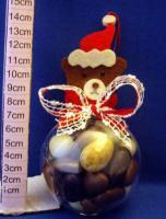 Foto 2 Weihnachten, Tischdekoration, Schokolade, Weihnachtskug