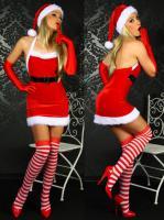Weihnachts-Minikleid