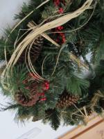 Weihnachts Wandkranz