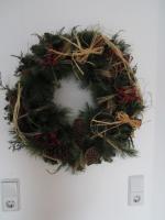 Foto 2 Weihnachts Wandkranz