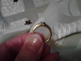 Foto 2 Weihnachtsgeschenk in letzter Minute? Biete einen goldenen Ring (585) mit 0,5 Karat Diamant