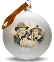 Foto 4 Weihnachtskugel mit Foto bedruckt