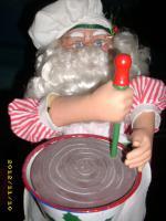 Foto 3 °° Weihnachtsmann mechanisch Betrieben°°