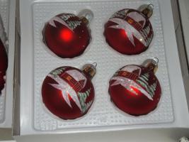 Foto 4 Weihnachtsschmuck Rundum Sorglos Paket alles in Rot