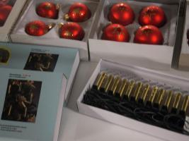 Foto 5 Weihnachtsschmuck Rundum Sorglos Paket alles in Rot