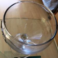 Foto 5 Wein-Set Etain 5-tlg. mit Karaffe: Glas mit Zinn ''Traubenernte'' € 60, - versandfrei