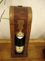 Weinflaschenbox aus Holz