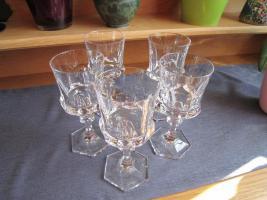 Foto 2 Weingläser Villeroy u. Boch Bleikristall 5 Stück