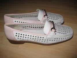 Foto 2 Weiße Schuhe von Rieker Gr. 41