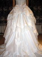 Foto 9 Wei�es, verspieltes, romantisches Brautkleid Gr. 40- Artikelzustand: Gebraucht und gereinigt.