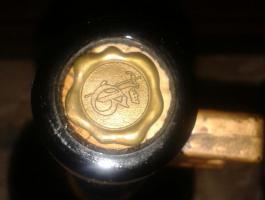Foto 4 Weisswein flasche
