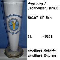 Weizenglas Lechhausen b. Augsburg