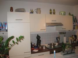 Foto 3 Wellmann-Küche, knapp 2 Jahre, L-Form, Farbe: vanille + noce