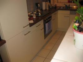 Foto 4 Wellmann-Küche, knapp 2 Jahre, L-Form, Farbe: vanille + noce