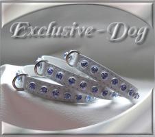 Welpenhalsbänder Chihuahua Strass Halsband Schmuckhalsband by EXCLUSIVE-DOG