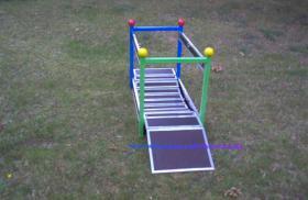 Foto 2 Welpenspielzeug Hängebrücke