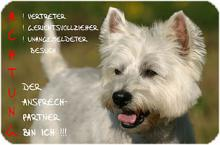 West Highland White Terrier  Westie Fanartikel