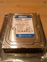 Western Digital Caviar Blue 500 GB, SATA II (WD5000AAKS)