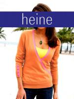 Wickelpullover, orange-pink |