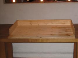 wickeltischaufsatz in herbolzheim von privat wickelkommode. Black Bedroom Furniture Sets. Home Design Ideas