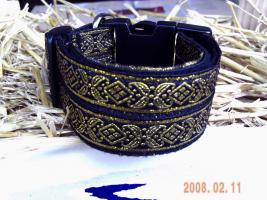 Halsband verstellbar 4cm breit