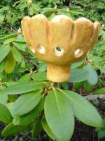 Foto 3 Windlicht Blume Blüte orange Garten Terrasse Balkon Dekoration Geschenk