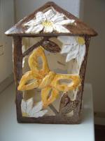 Windlicht Schmetterling Garten Tischdeko Geschenk Deko