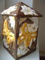 Foto 2 Windlicht Schmetterling Garten Tischdeko Geschenk Deko
