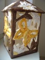 Foto 4 Windlicht Schmetterling Garten Tischdeko Geschenk Deko
