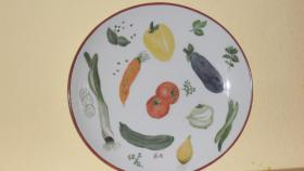Foto 3 Winterling: Handbemalte Terrine und passender Gemüseteller