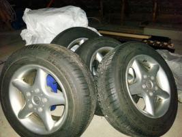 Winterreifen Komplett Satz auf Alufelgen für BMW E39