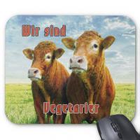 Wir sind Vegetarier - Mousepad