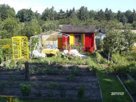 Wir verkaufen unseren kleinen Garten