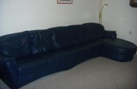 Wohnlandschaft (Couch), Echtleder, sehr guter Zustand