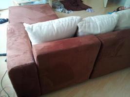 Foto 3 Wohnlandschaft, Sofa, Eckcouch mit Schlaffunktion