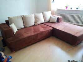 Foto 4 Wohnlandschaft, Sofa, Eckcouch mit Schlaffunktion