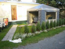Wohnmobilheim am Baggersee zuverkaufen